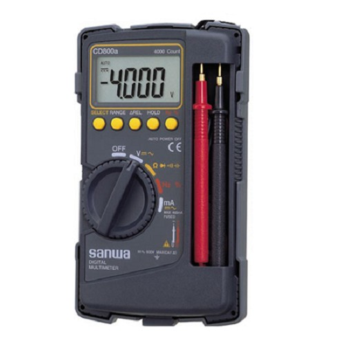SANWA Digital Multimeter [CD800A] - Tester Listrik
